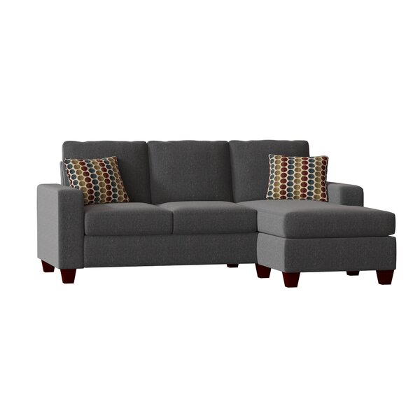 Beautiful Classy Morpheus Right Hand Facing Sectional with Ottoman by Mercury Row by Mercury Row