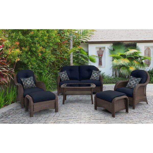 Sturminster 6 Piece Sofa Set with Cushions by Brayden Studio