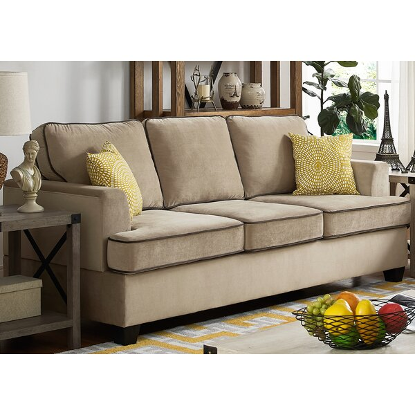 Last Trendy Guglielmo Sofa by Charlton Home by Charlton Home