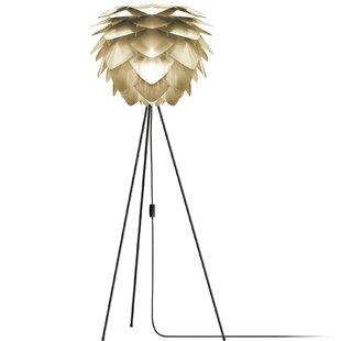 Top Reviews Deerfield 60 LED Metallic Tripod Floor Lamp By Ivy Bronx