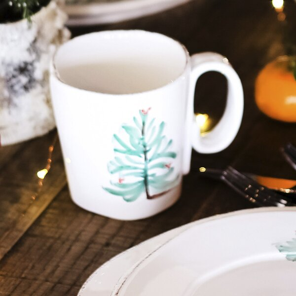 Lastra Holiday Coffee Mug by VIETRI