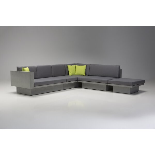 Mensae Modular Sectional with Ottoman by Brayden Studio