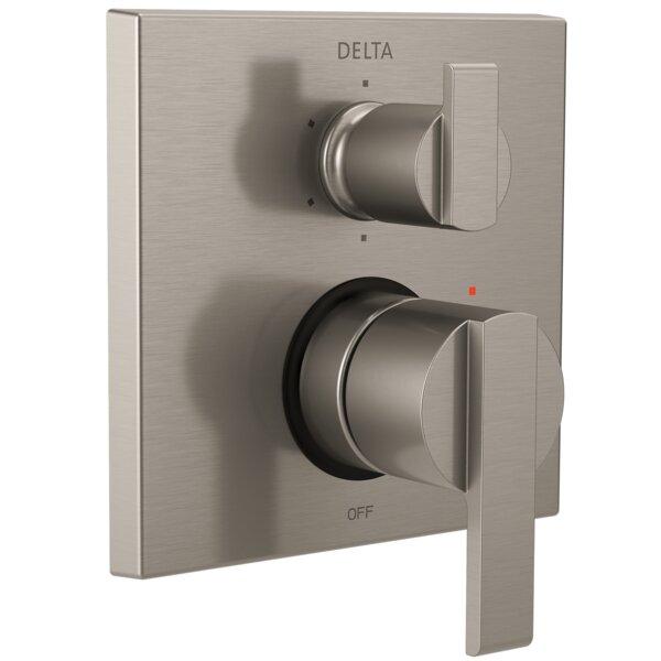 Ara Angular Modern Monitor 14 Series Pressure Balance Valve Trim by Delta