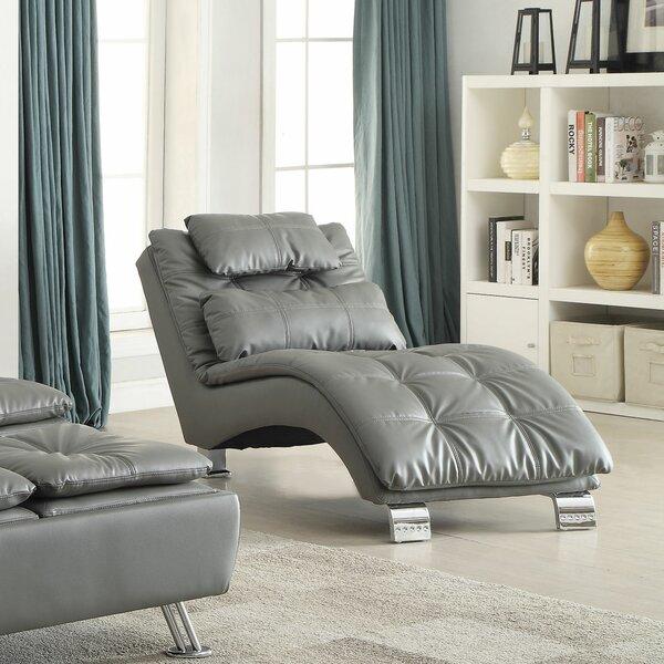 Barium Chaise Lounge with Cushion