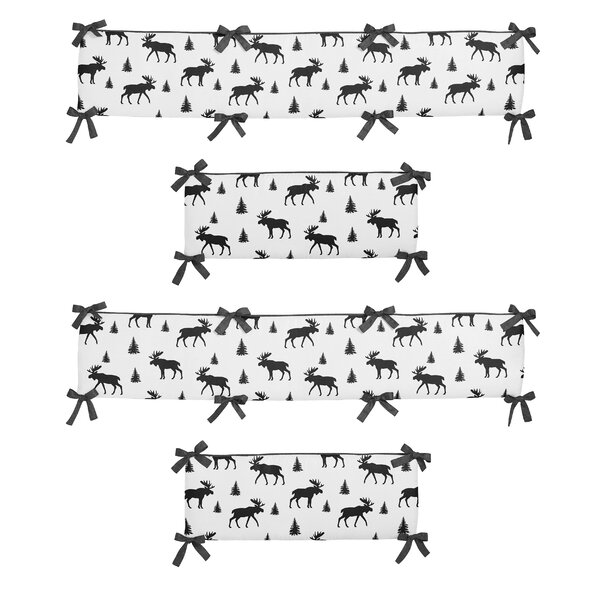 Rustic Patch Crib Bumper (Set of 4) by Sweet Jojo Designs