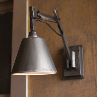 Reviews Emmy Studio 1-Light Armed Sconce By Williston Forge