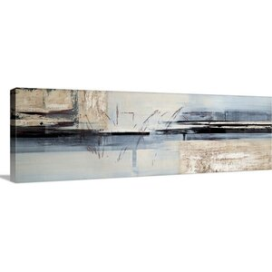 'Overseas' by Sarah West Painting Print on Canvas by Great Big Canvas