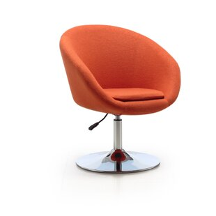 Read Reviews Helmuth Swivel Barrel Chair By Orren Ellis