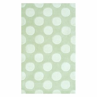Buying Hand-Hooked White/Green Area Rug By The Conestoga Trading Co.