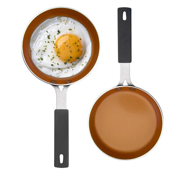 Mini Egg 5.5 Copper-Core Non-Stick Frying Pan by Gotham Steel