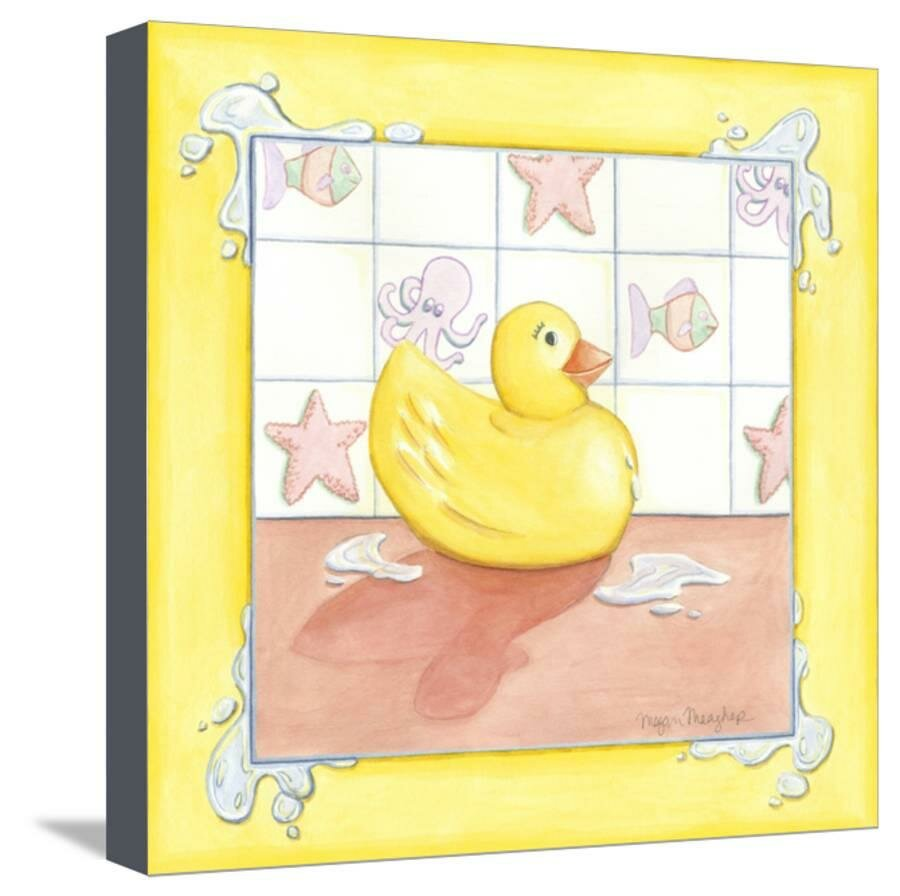 Room 365 \'Small Rubber Duck I\' Graphic Art Print on Canvas | Wayfair