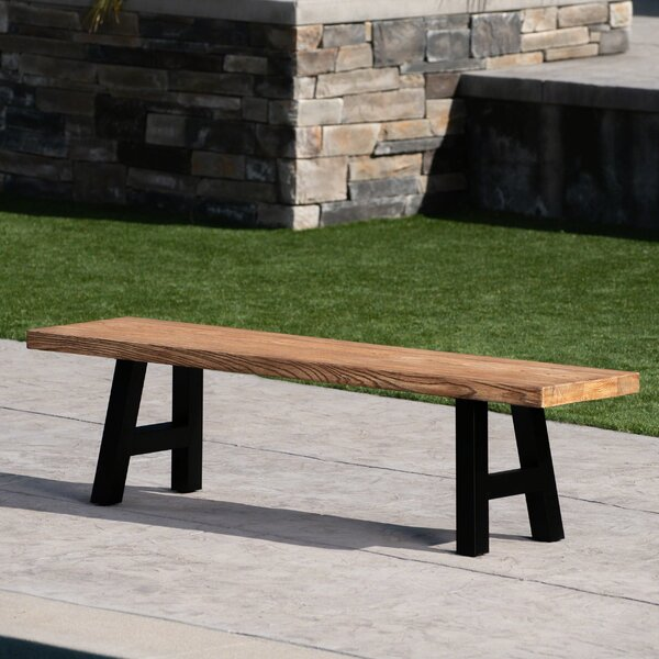 Uppingham Light Weight Concrete Picnic Bench by Williston Forge