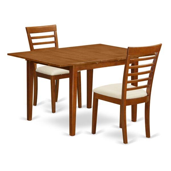 Lorelai 3 Piece Dining Set by Alcott Hill
