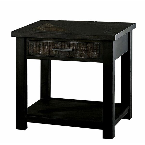 Desantis End Table with Storage by Foundry Select Foundry Select