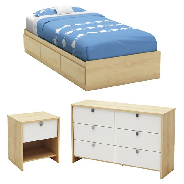 Cookie Twin Platform Configurable Bedroom Set by South Shore