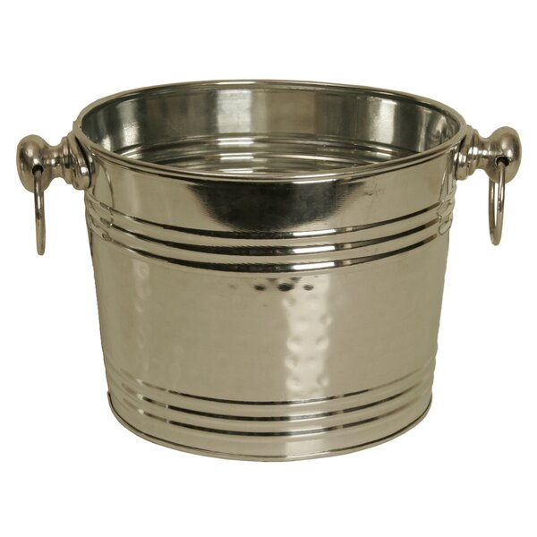 Metal Round Waterproof Beverage Tub by WaldImports