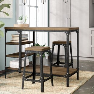 Terence 3 Piece Counter Height Dining Set