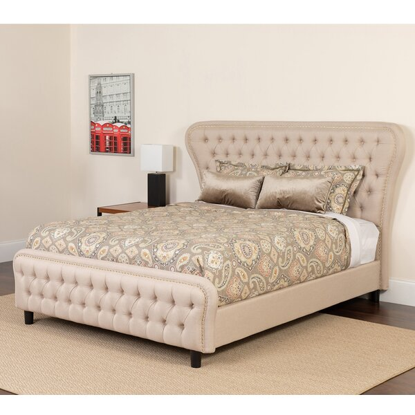 Quijano Upholstered Platform Bed by House of Hampton