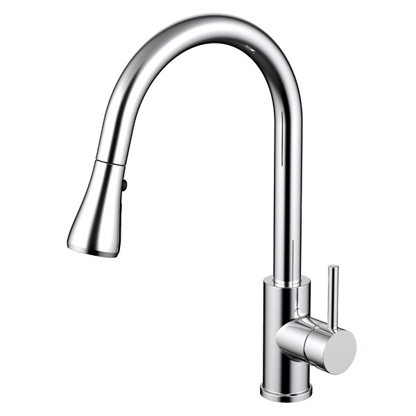 Pull Out Single Handle Kitchen Faucet by Daweier