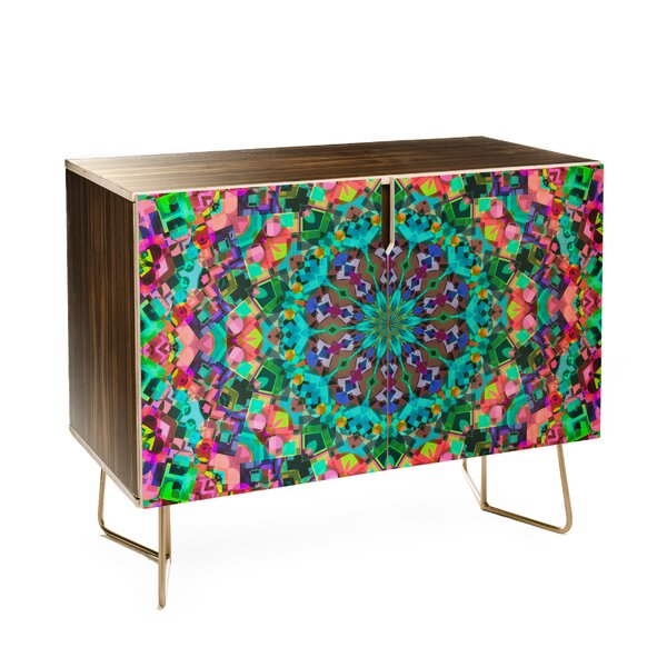 Lisa Argyropoulos Inspire Oceana 2 Door Accent Cabinet by East Urban Home East Urban Home