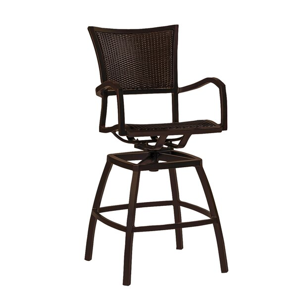 Aire Swivel 30.25 Bar Stool by Summer Classics