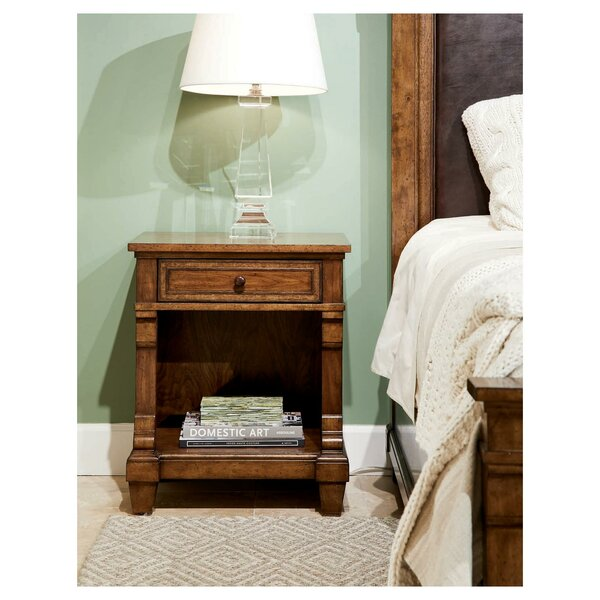 Old Town 1 Drawer Nightstand by Stanley Furniture