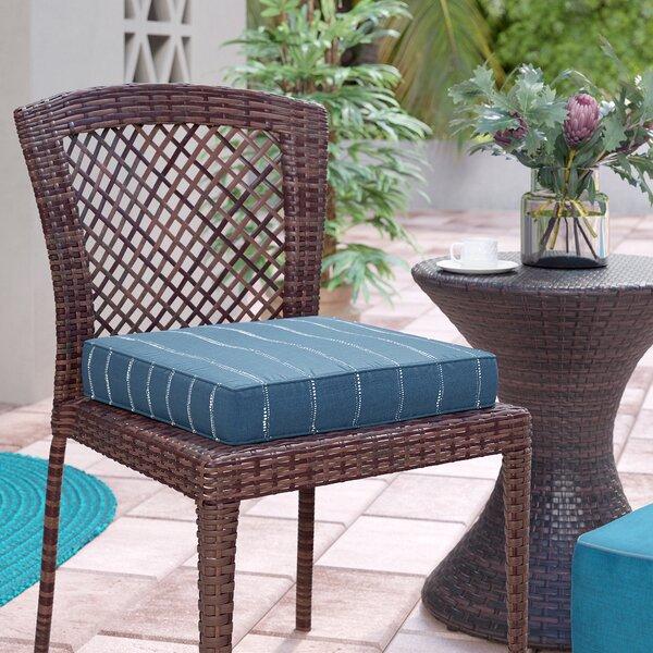 Derrytown Dotted Stripes Ottoman Cushion By Beachcrest Home