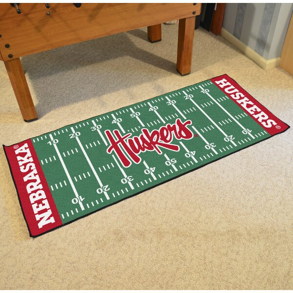 University of Nebraska Kitchen Mat by FANMATS