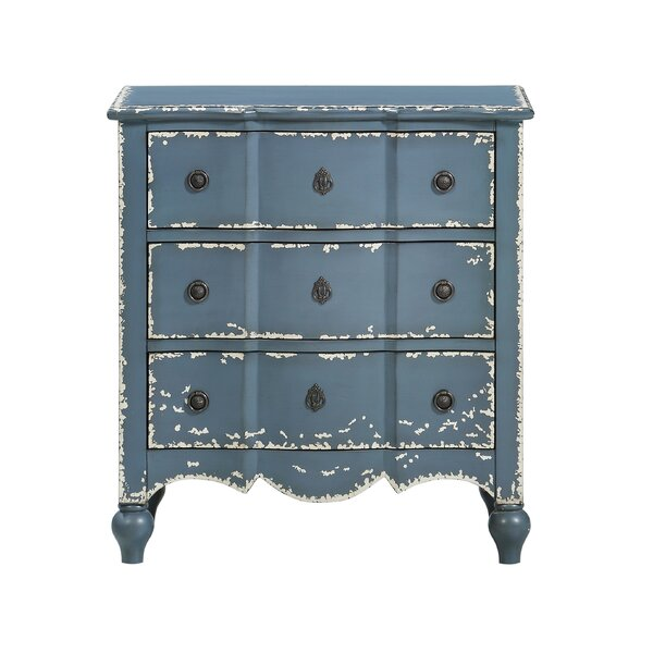 Caledon 3 Drawer Accent Chest by Ophelia & Co.