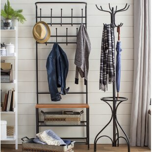 Entryway Storage Hall Tree