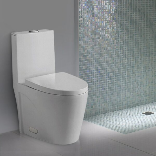 Nevelle Elongated One-Piece Toilet by Kevsal Inc