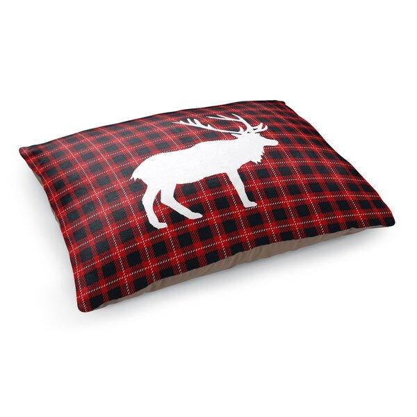Eddie Deer Plaid Pet Pillow by Tucker Murphy Pet