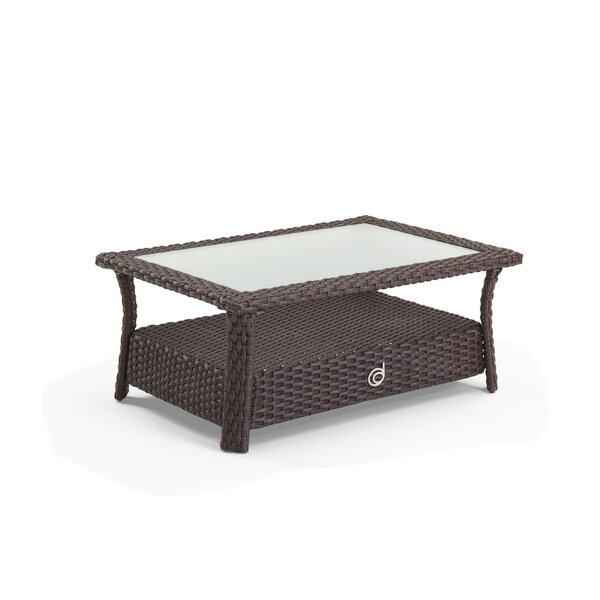 Farrar Glass Coffee Table by Darby Home Co