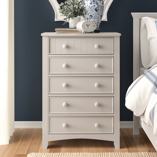 Chilhowie Transitional 5 Drawer Chest by Three Posts Baby & Kids