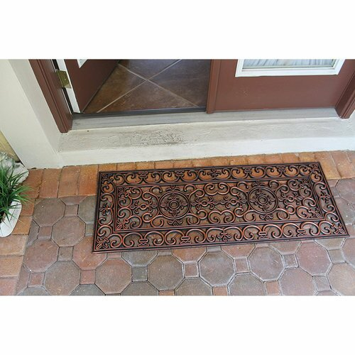 Paxton Rubber Iron Elegant Large Doormat by Astoria Grand