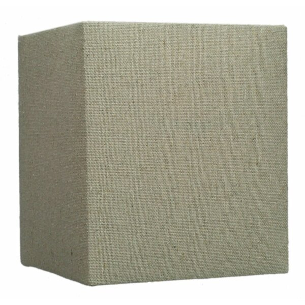 6 Linen Square Lamp Shade by Home Concept Inc