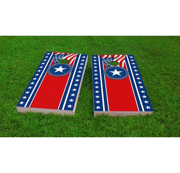 America Theme Light Weight Cornhole Game Set by Custom Cornhole Boards