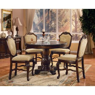 Mcclelland 5 Piece Counter Height Dining Table Set By Astoria Grand