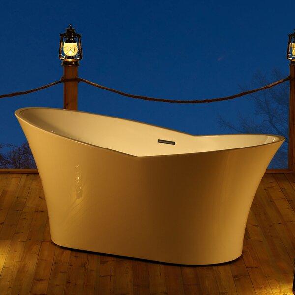 Dallas 67 x 32 Freestanding Soaking Bathtub by Jade Bath
