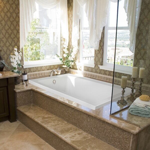 Designer Emma 66 x 42 Air Bath by Hydro Systems