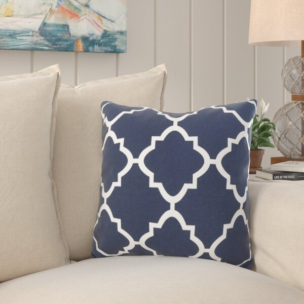 Farrington Moroccan Outdoor Throw Pillow by Breakwater Bay