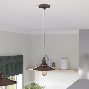 Reviews Bouvet 1-Light Cone Pendant By Laurel Foundry Modern Farmhouse