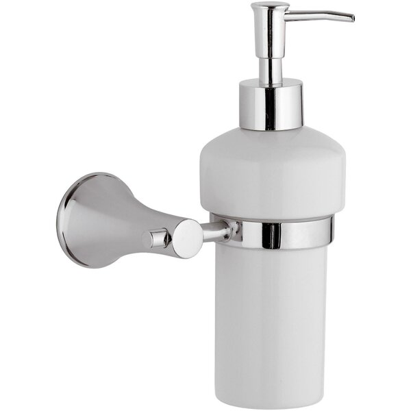 Snelling Wall Mounted Ceramic Pump Soap & Lotion Dispenser by Orren Ellis