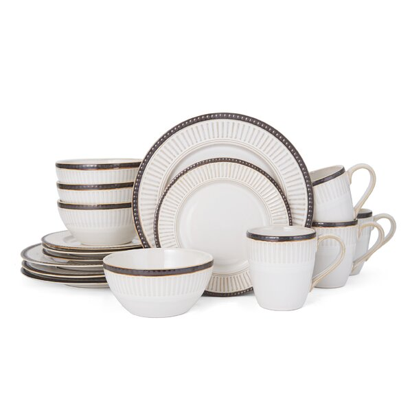Column Promenade 16 Piece Dinnerware Set, Service for 4 by Pfaltzgraff