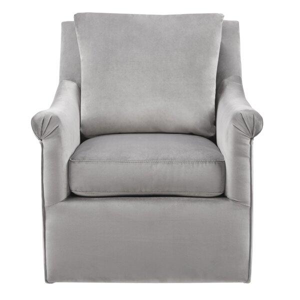 Lauretta Swivel Armchair by Alcott Hill