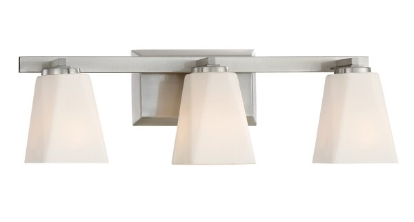 Cornerstone 3-Light Vanity Light by Designers Fountain