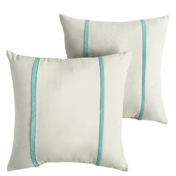 Holmberg Indoor/Outdoor Sunbrella Throw Pillow (Set of 2) by Alcott Hill