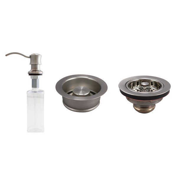 Basics 3 Piece Kitchen Sink Accessory Set by Keeney Manufacturing Company