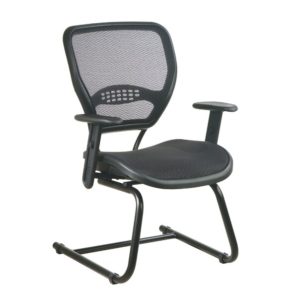 SPACE Air Grid Back Guest Chair by Office Star Products