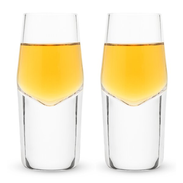 Raye™ Heavyweight Crystal 2 oz. Shot Glass (Set of 2) by Viski